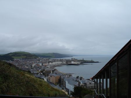 Aberystwyth, from the 'mountain' railway