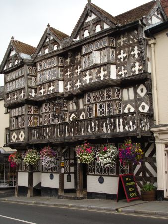 A nice building in Ludlow